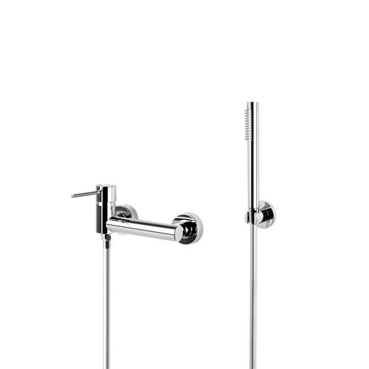 Shower set Corsan CMZ065CH chrome