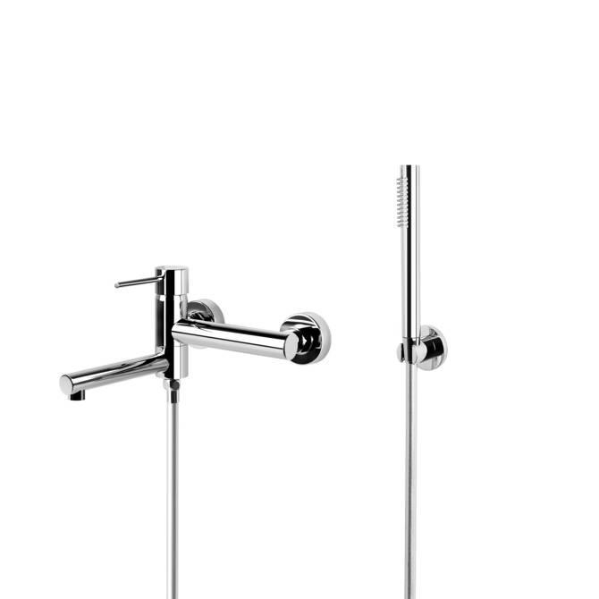 Shower set Corsan CMZ063CH chrome