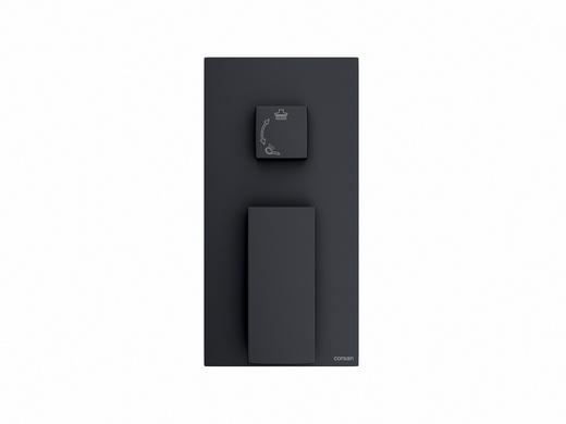 Prysznicowa bateria podtynkowa Corsan CMM01BL