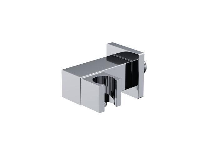 Uchwyt prysznicowy Corsan CMU189CH z przyłączem do słuchawki prysznicowej